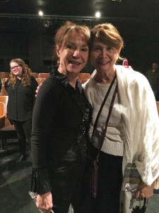 Me with Cecilia Woloch, Feb. 8, 2015